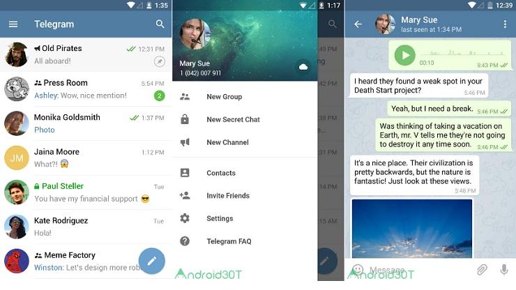 تلگرام بدون نیاز به VPN
